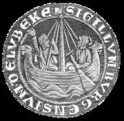 リューベックの都市印章