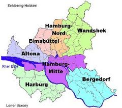 ハンブルクの行政区