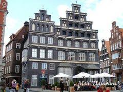 リューネブルク 黒レンガ造りの建物