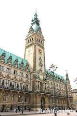 ハンブルク市庁舎外観