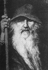北欧神話の軍神オーディン